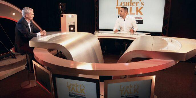 Forbes Leader's Talk Interviews StreamMind President, Nicolas Muhadri