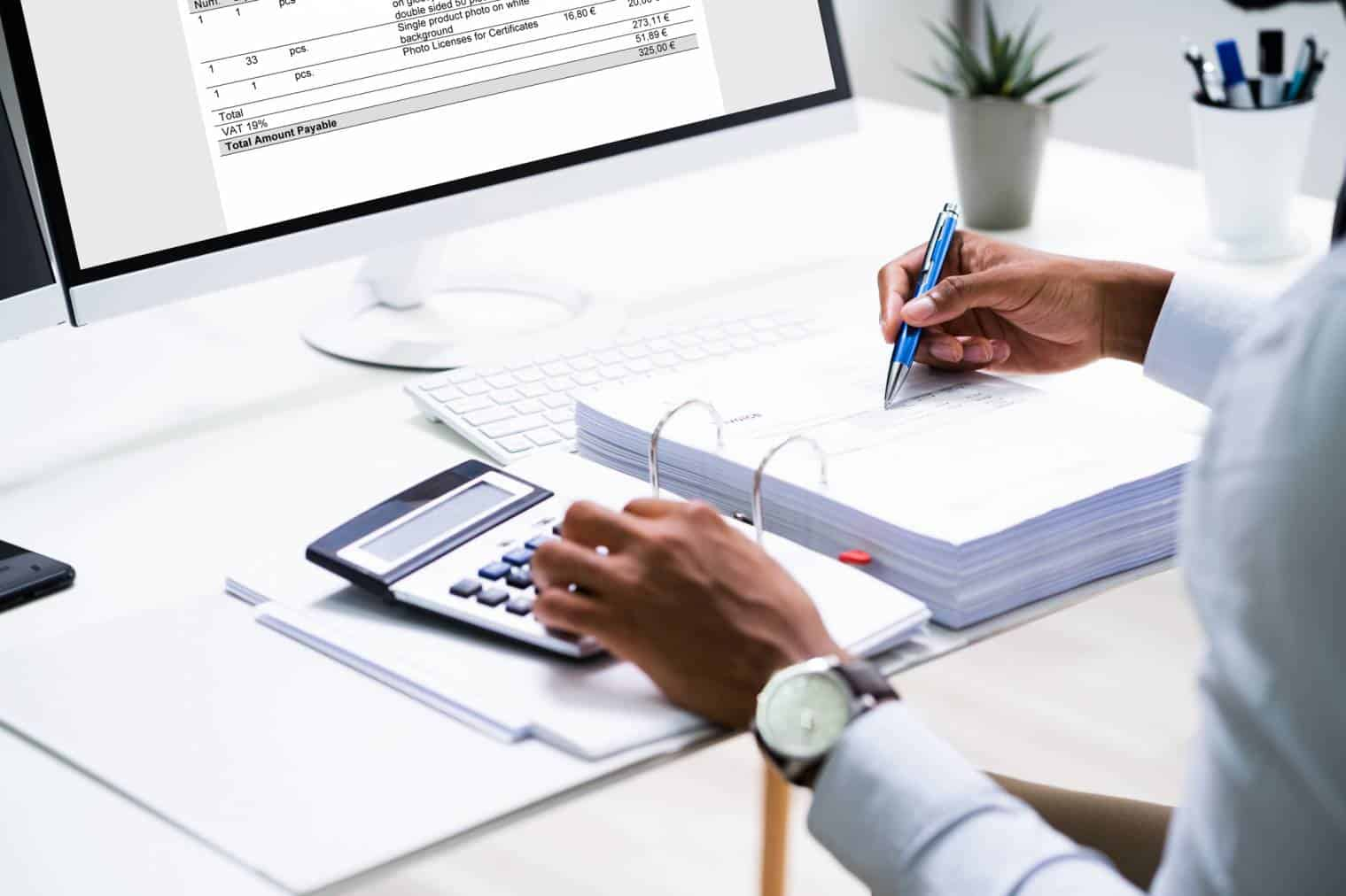 Types of invoices in accounting
